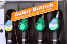 Neue Tankstelle ab anfangs August 2014